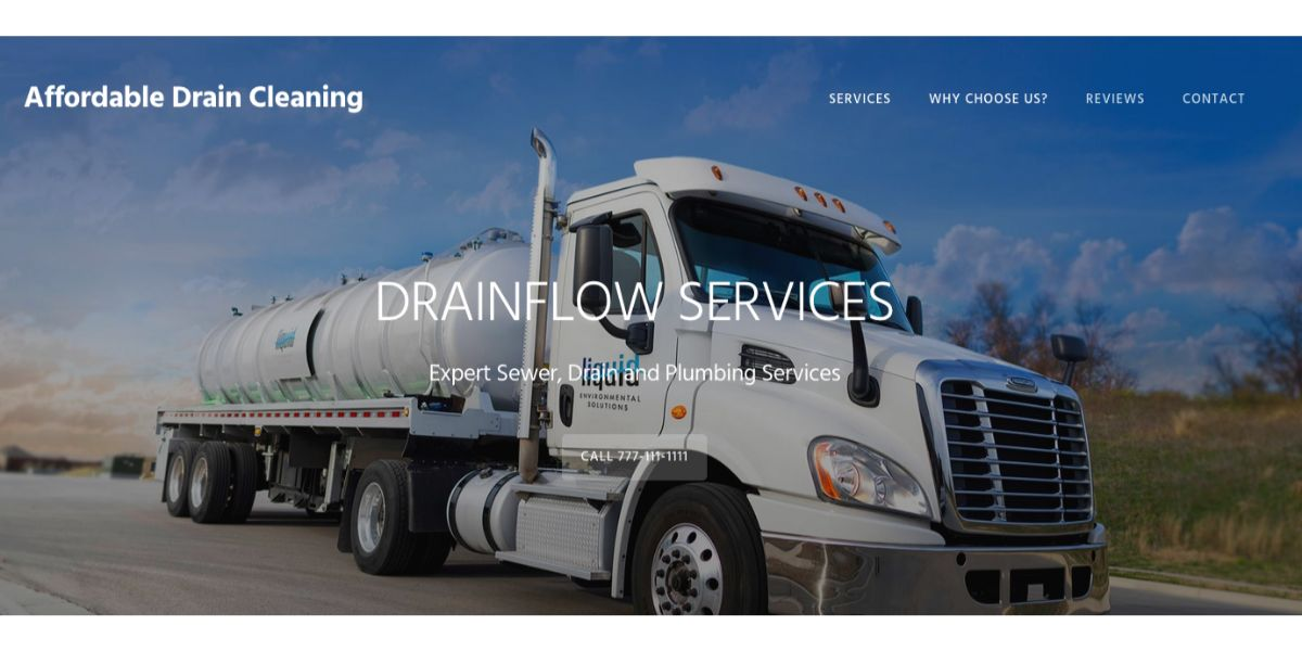 Affordable Drain Cleaning